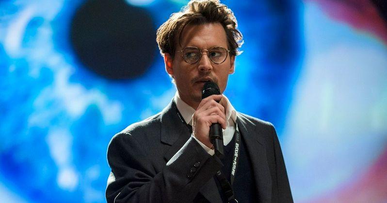 Second Full-Length Transcendence Trailer Starring Johnny Depp