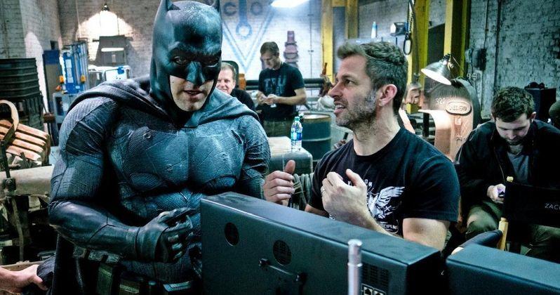 Zack Snyder on Batman v Superman Robin Rumors, DCEU & Spielberg
