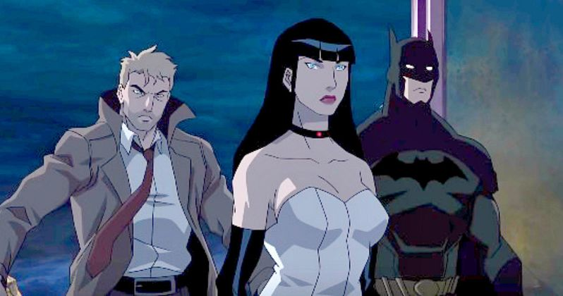 Justice League Dark Preview Teases New DC Animated Movie