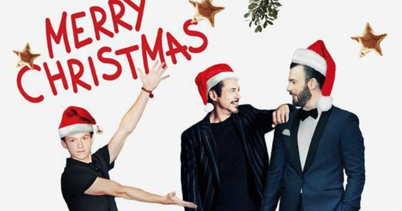 Avengers Go Under the Mistletoe for a Marvel Christmas Greeting