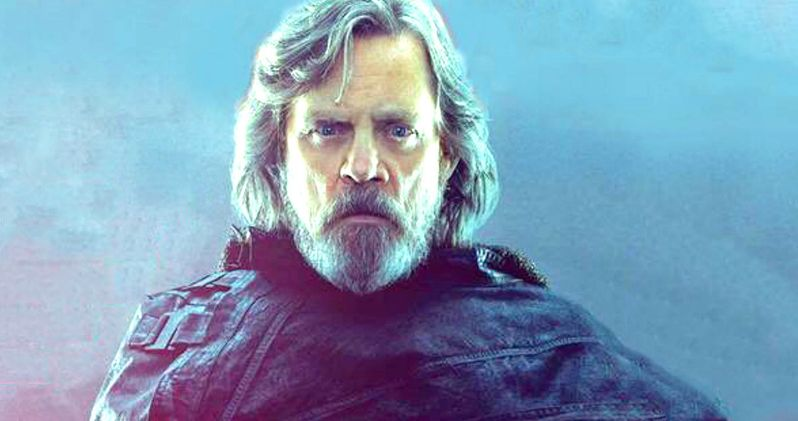 Luke Skywalker Goes Dark in Intense New Star Wars 8 Photo