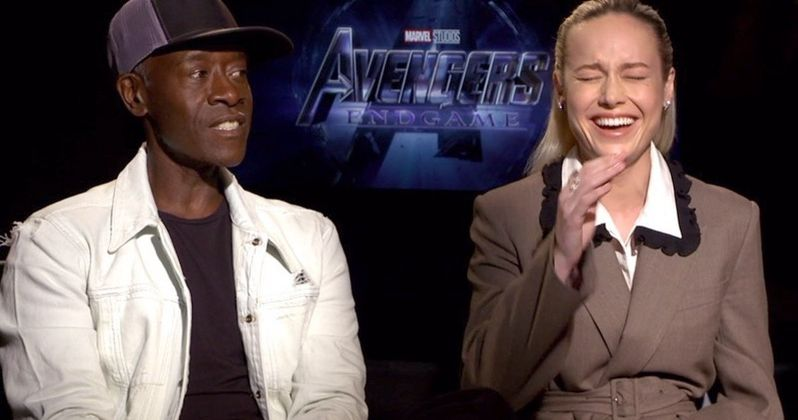 Don Cheadle Supports Brie Larson Over Body Language Bashing During Endgame Tour