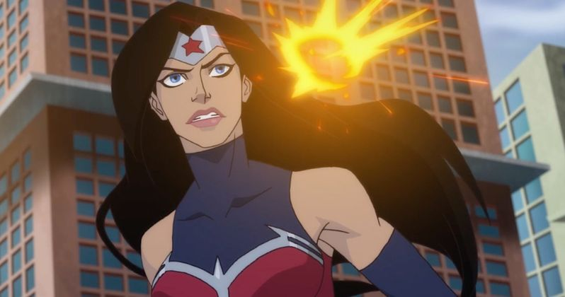 wonder woman bloodlines will premiere at nycc with batman Superman and Wonder Women