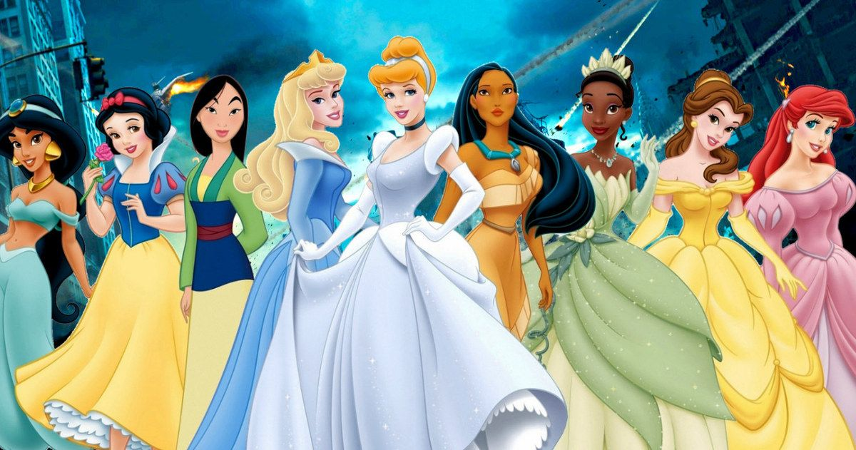 Disney Princesses Want an Infinity War Style Team-Up Movie
