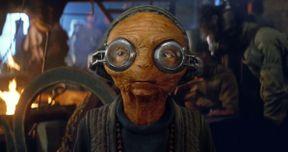 Star Wars: The Force Awakens Blu-ray Preview: The Magic Behind Maz Kanata