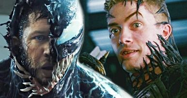 Topher Grace Can't Wait to Watch Tom Hardy as Venom