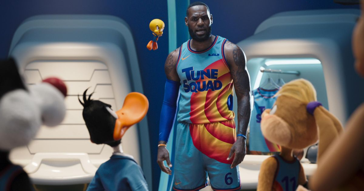 LeBron James Claps Back at Space Jam 2 Haters by Touting the Sequel's Success