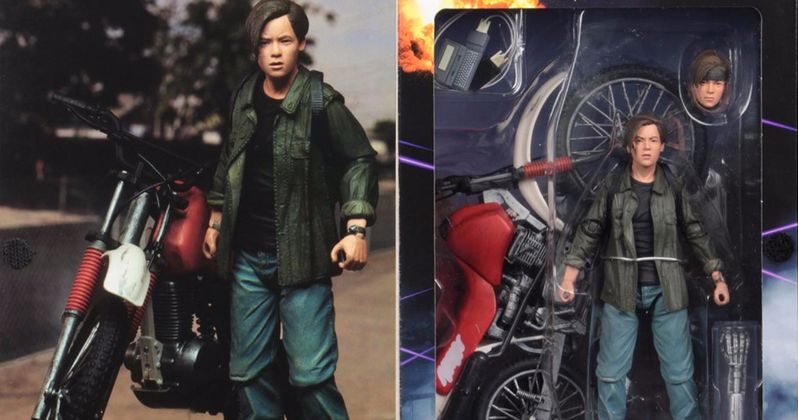 NECA Brings T2: Judgment Day John Connor Figure with Dirt Bike to Comic-Con
