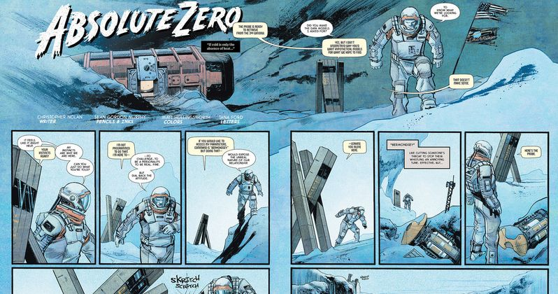 Interstellar Prequel Comic Debuts Written by Christopher Nolan
