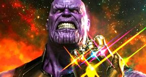 Thanos Wields the Infinity Gauntlet in Powerful New Avengers 3 Poster