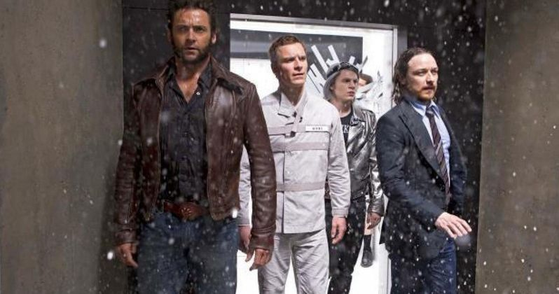 Quicksilver Joins Wolverine in Latest X-Men: Days of Future Past Photos