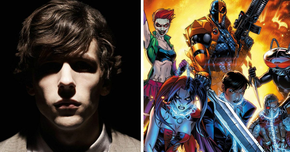 Suicide Squad Movie To Star Jesse Eisenberg As Lex Luthor?