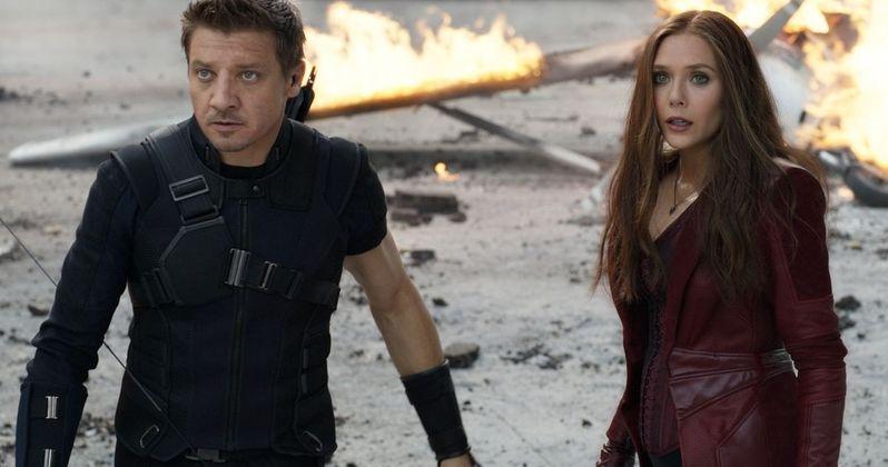 Scarlet Witch & Hawkeye Will Return In Avengers: Infinity War