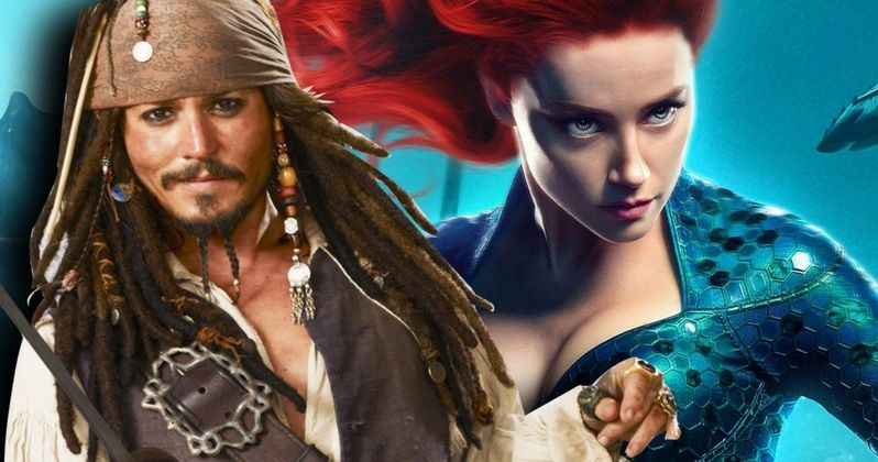 Johnny Depp Allegedly Wanted Amber Heard Fired from Aquaman
