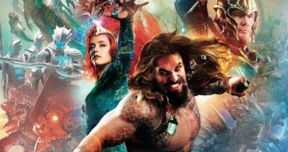Aquaman Movie Books Show Off Classic Orange and Green Costume