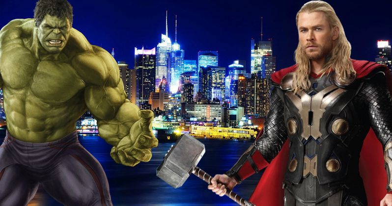 Thor: Ragnarok Set Photos Tease a Trip to New York