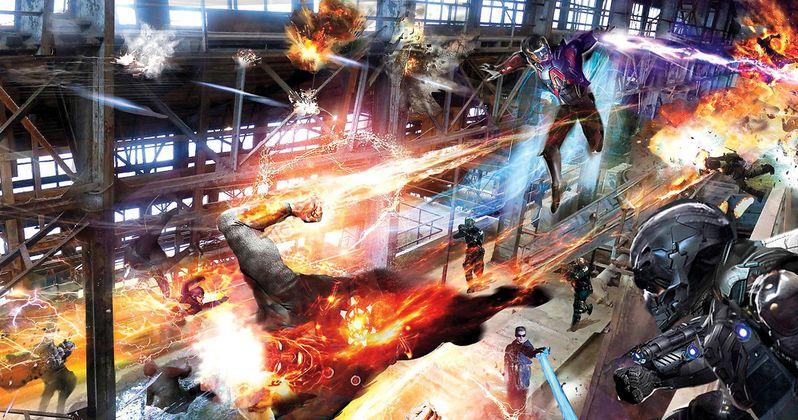 DC's Legends of Tomorrow Concept Art Shows Firestorm and Atom