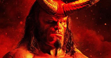 Darkness Calls the Devil in 2 Stunning New Hellboy Posters