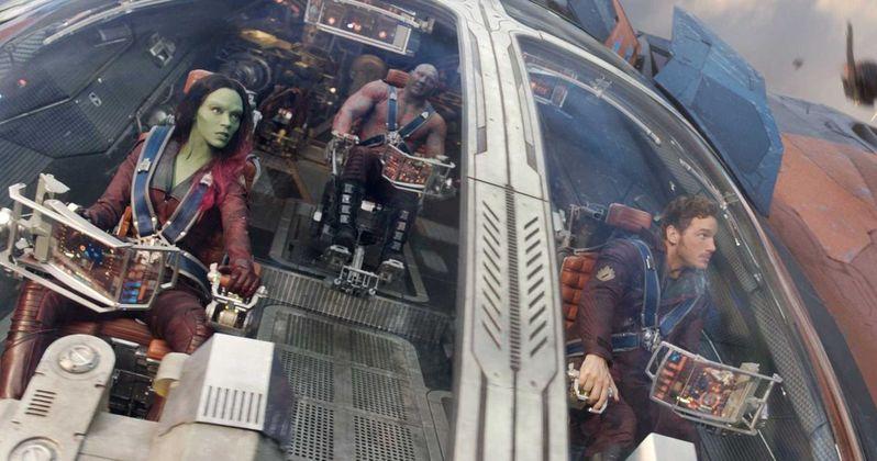 Chris Pratt Pilots the Milano in Guardians of the Galaxy 2 Set Video