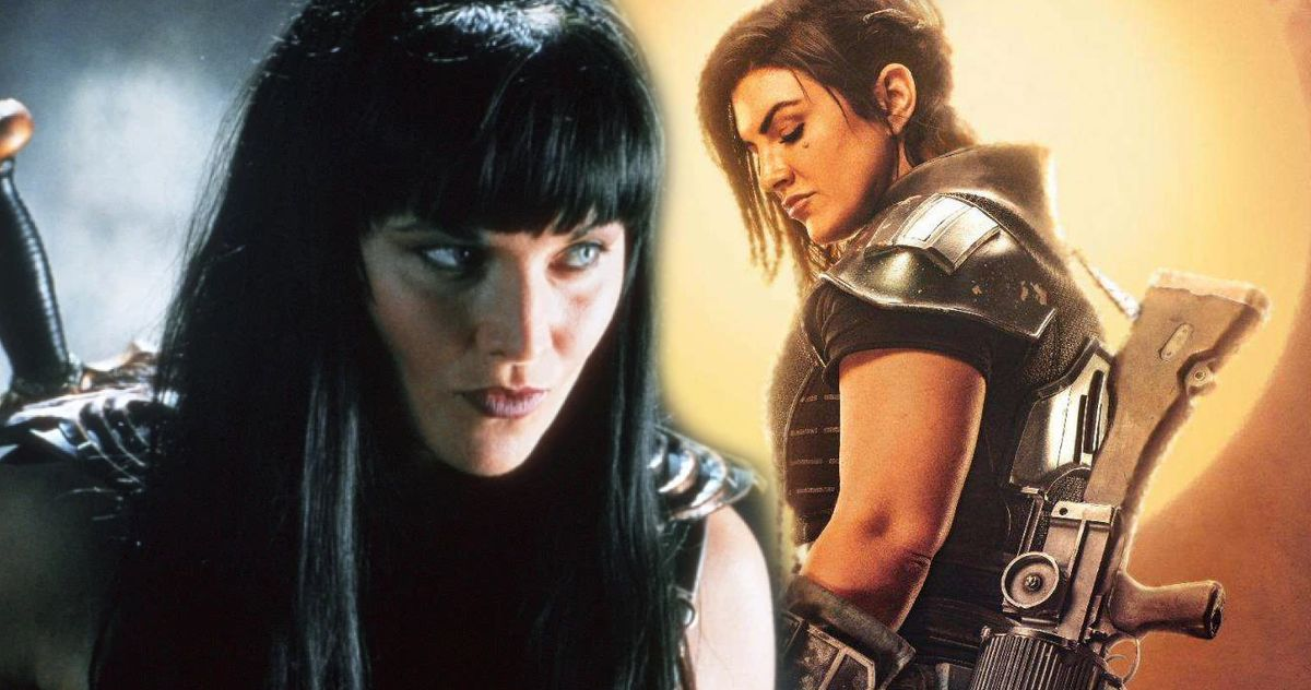 The Mandalorian Fans Lucy Lawless Gina Carano