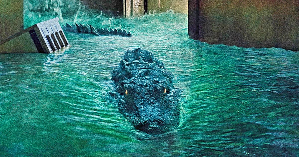 Crawl Special Feature Clip Goes Inside an Alligator ...