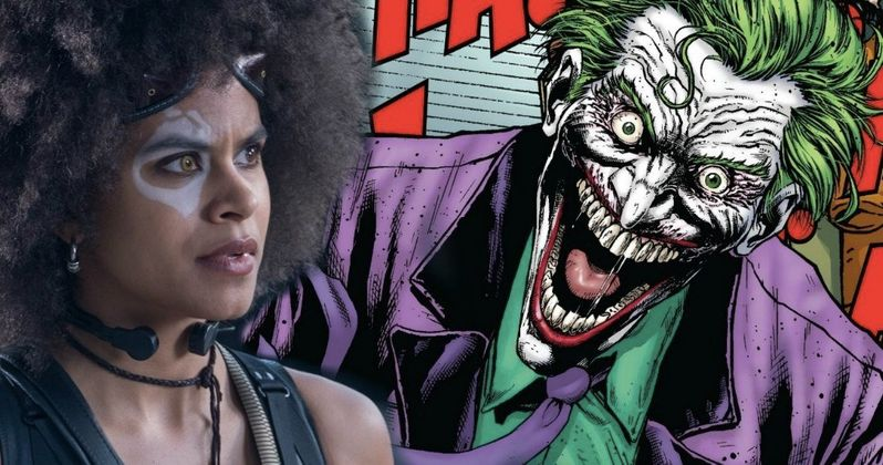 Joker Movie Goes After Deadpool 2 Star Zazie Beetz
