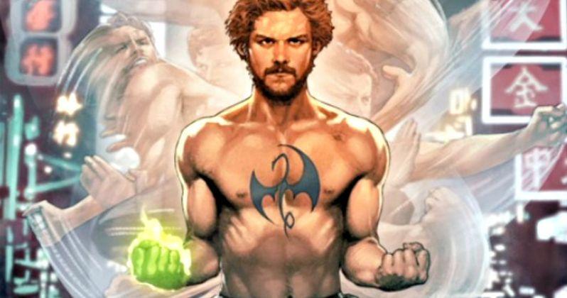 Iron Fist NYCC Marvel Comics Cover Features Netflix Star Finn Jones