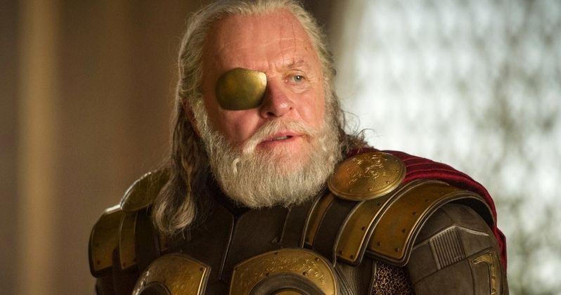 Anthony Hopkins' Odin Returns in Latest Thor: Ragnarok Set Photos