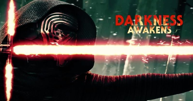 Kylo Ren Awakens the Dark Side in Star Wars 7 Motion Poster