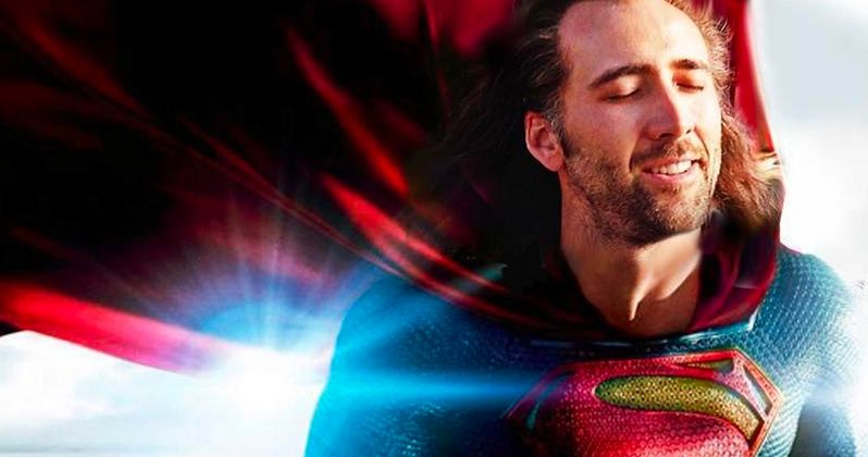 Arrowverse Producer Jokes About Nicolas Cage Playing Superman on Crisis on Infinite Earths