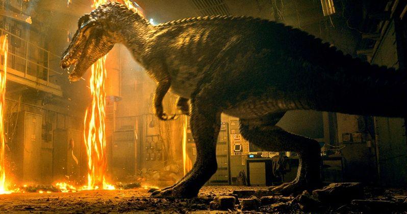 Baryonyx Attacks in Best Look Yet at New Jurassic World 2 Dinosaur