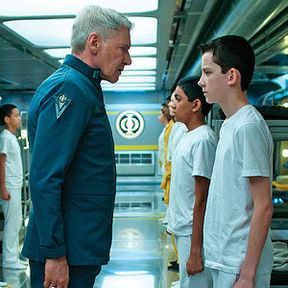 Ender's Game Photo Reveals Harrison Ford as Colonel Graff