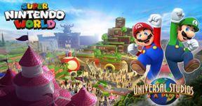 Super Nintendo World Revealed in Universal Studios Concept Art