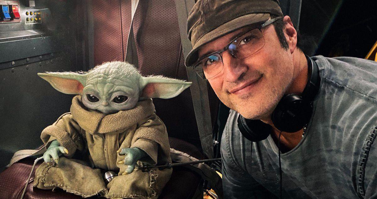 Robert Rodriguez Shares Baby Yoda Selfie from The Mandalorian Season 2