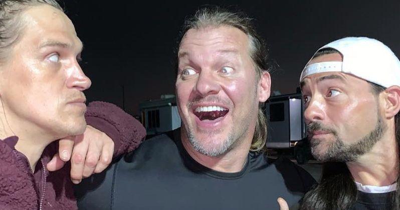 WWE Superstar Chris Jericho Bodyslams the Set of Jay & Silent Bob Reboot