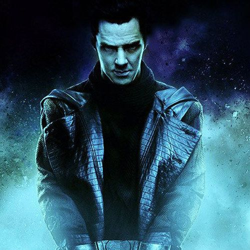 Star Trek Into Darkness Poster with Benedict Cumberbatch as a Captured John Harrison