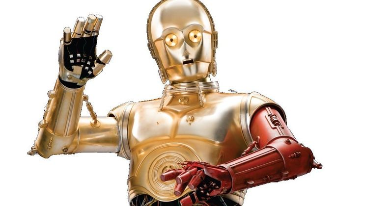 How Did C-3PO Get His Red Arm in Star Wars: The Force Awakens?
