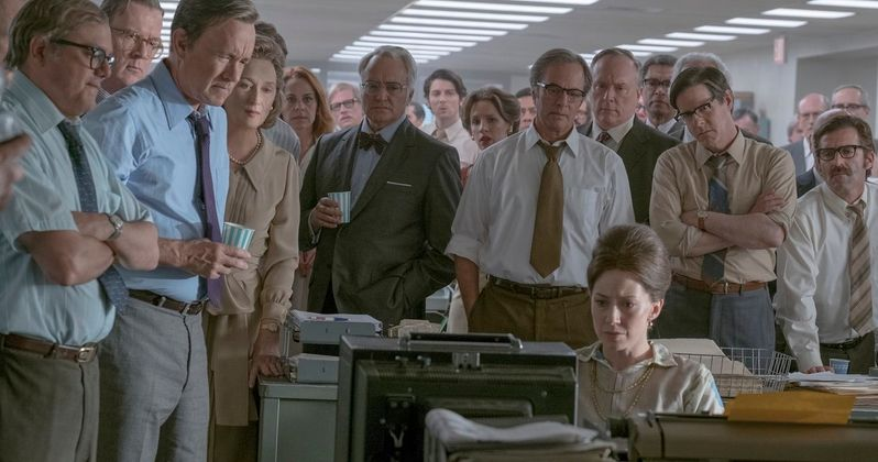 First Look at Tom Hanks & Meryl Streep in Spielberg's The Post