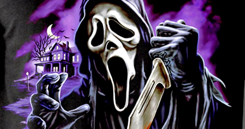 Scream Celebrates 20th Anniversary with Fright-Rags Ghostface T-Shirt Collection