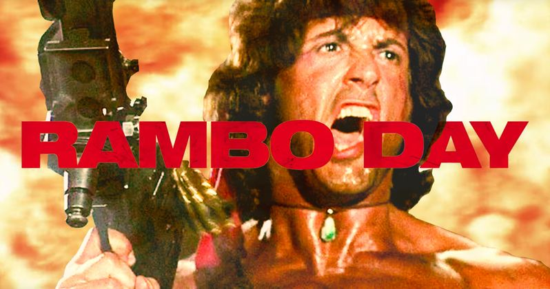 You'll Celebrate Rambo Day on September 18th and You'll Like It