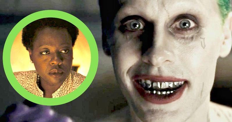What Did Viola Davis Think of Jared Leto's Crazy Suicide Squad Behavior?
