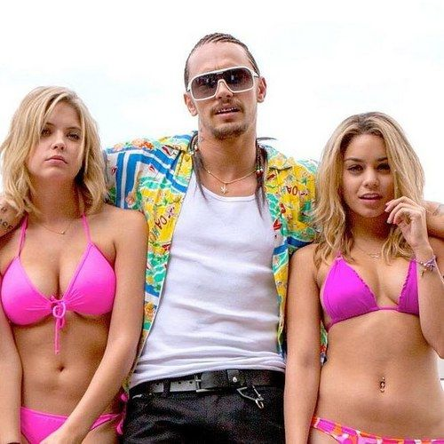 Spring Breakers Clip and Photos Introduce James Franco as Alien