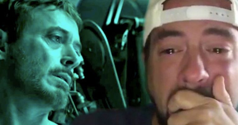 Did Kevin Smith Cry Over the Avengers: Endgame Trailer?