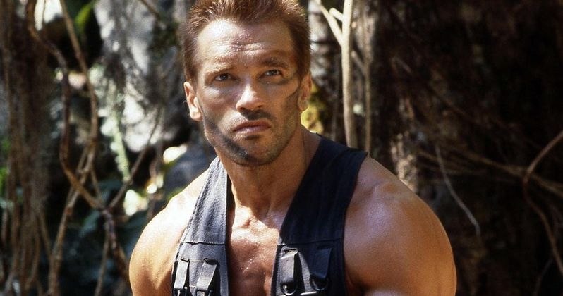 Watch The Predator Cast Do Their Best Schwarzenegger Impressions