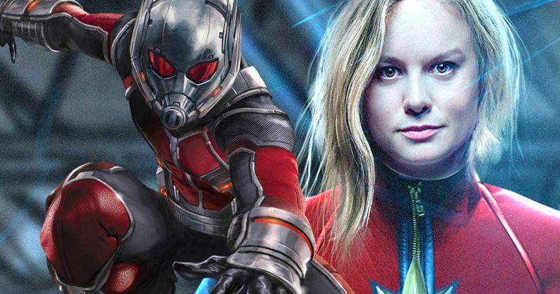 Paul Rudd Finishes Ant-Man 2 Treatment, Praises Brie Larson as Captain Marvel