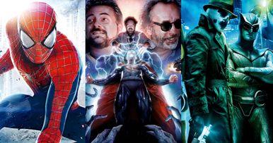 9 Superhero Movies That Never Happened
