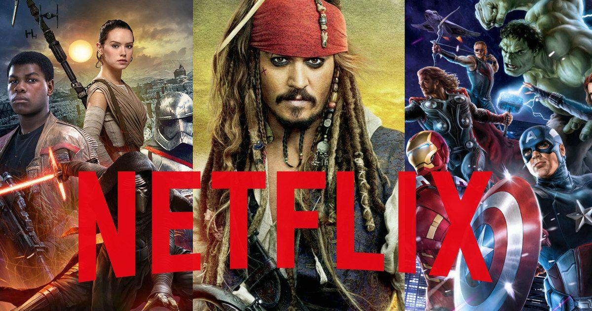 Netflix Gets Disney, Marvel, Star Wars Exclusively in ...