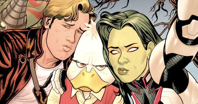 Guardians Howard the Duck Scene Gets Comic Book Sequel