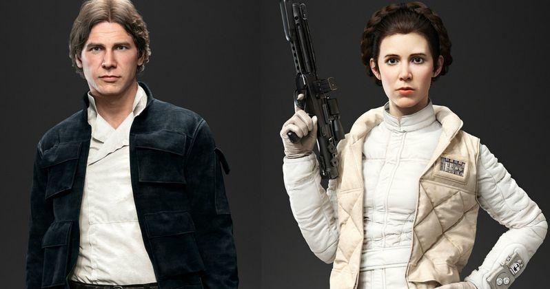 Star Wars Battlefront Unveils Playable Han Solo & Princess Leia