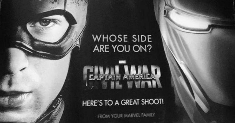 Captain America: Civil War Art Revealed by Jeremy Renner